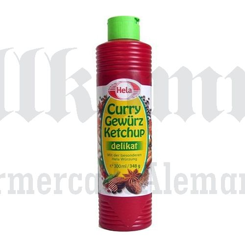 Curryketchup delikat 330ml